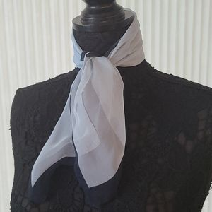 Shades of Blue Square Scarf
